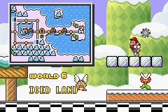 Super Mario Advance 4 - Super Mario Bros. 3 - Ending  - world 6 - User Screenshot